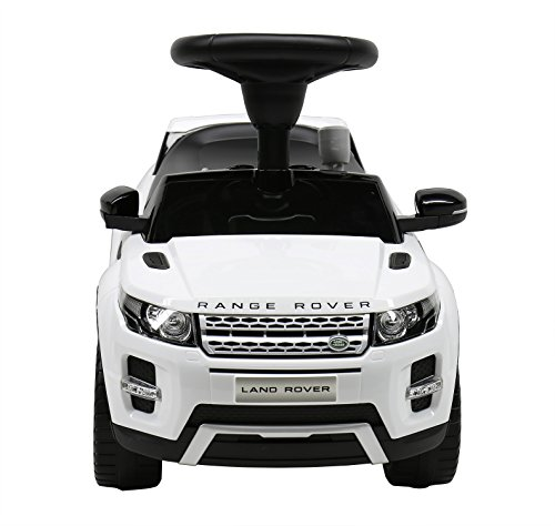 Liscensed Land/Range Rover Push Ride on Car for Kids Baby Racer White (Range Rover Baby compare prices)