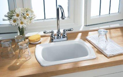 Buy American Standard Chandler Americast Island Sink, Bone #7182.000.021 (American Standard Sinks, Plumbing, Sinks, Bar)