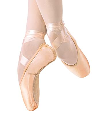 """2007"" Ballet Pointe Shoe,2007MED3.0X,multi-colored,3.0X"