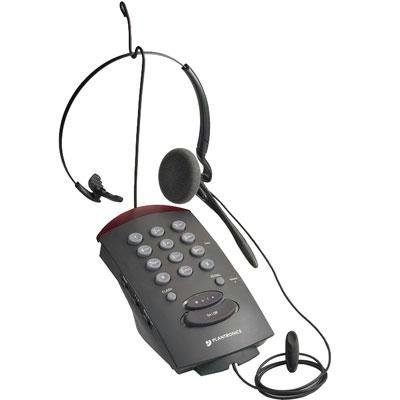 New Plantronics Plantronics T10 Corded Convertible Headset Telephone 1Xphone Line On-Line Indicator
