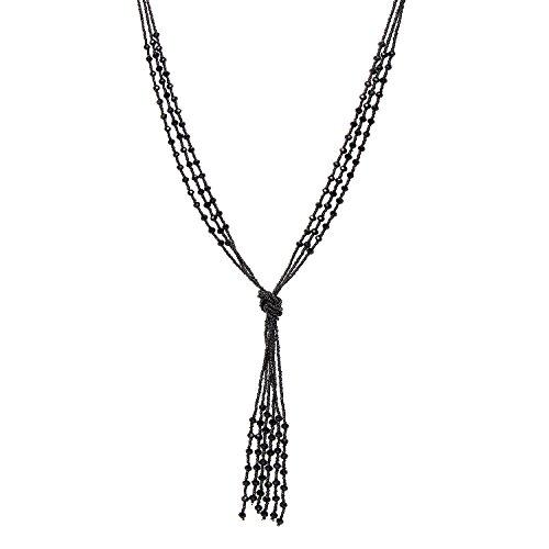 Zhenhui-Vintage-Long-Black-Beaded-Tassel-Pendant-Necklace-for-Women