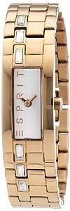 Esprit Damen-Armbanduhr Analog Quarz Edelstahl beschichtet A.ES900502006