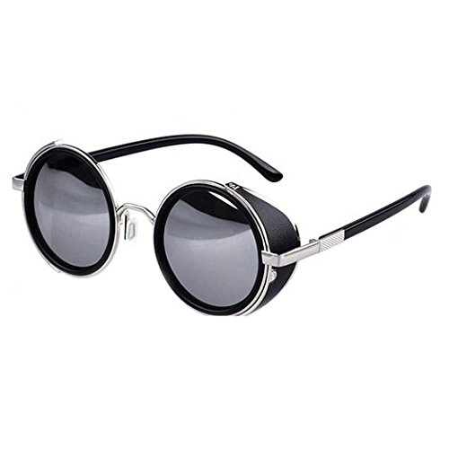 Vintage-50s-Steampunk-Round-Mirror-Lens-Glasses-Sun-Glasses-Men-Women-Unisex-Retro-Style-Glasses-Circle-Frame-Blinder-Sunglasses-Cyber-Goggels-Eyeglasses-Eyewear-Black