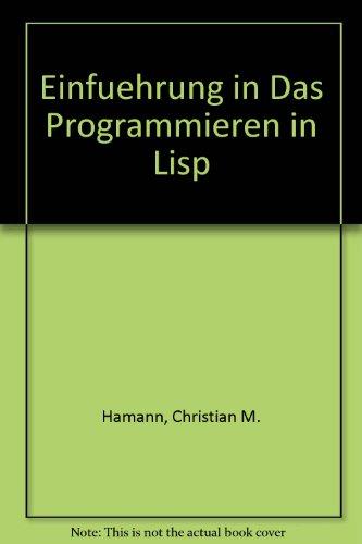 Einführung in das Programmieren in LISP