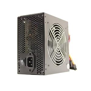 450 Watt 450W 120mm Fan Black ATX Power Supply 12V SATA 20/24 Pin Intel AMD by KENTEK
