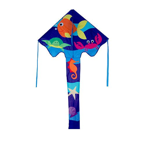 46in Sea Frolic - Large Easy Flyer Kite - Best kite for kids!