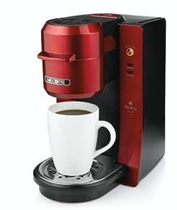 Mr. Coffee BVMC-KG2R-001 Single Serve Coffee Brewer, Red