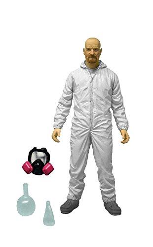 "Mezco Toyz Breaking Bad 6"" Walter Hazmat Figure (White Suit)"