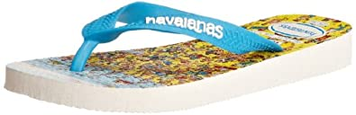 Havaianas Boys' K Wheres Wally Flip Flops White 10/11 UK Child (EU 29/30)