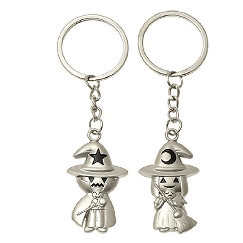 Stylish Little Girl And Boy Pendant Key Chain For Lovers front-93554