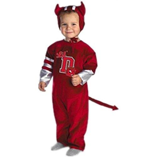 [Red Devil Infant Costume] (Devil Baby Halloween Costume)