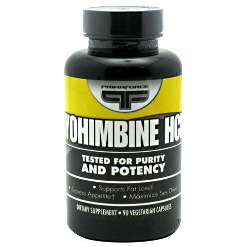 Yohimbine HCl Primaforce - 90 gélules