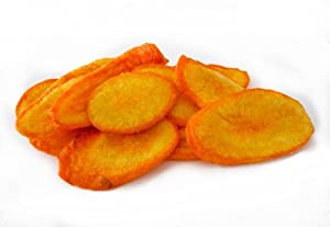 Carrot Chips - 1 lb - Crispy Snacks