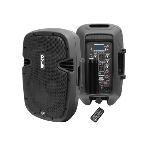 """Pylepro 10"""" 700 Watt Powered Two-Way Speaker With Mp3/Usb/Sd/Bluetooth Streaming & Record Function W/Remote Control"""
