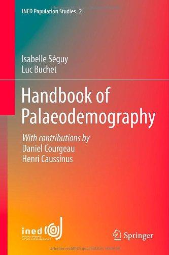 Handbook Of Palaeodemography (Ined Population Studies) front-764908