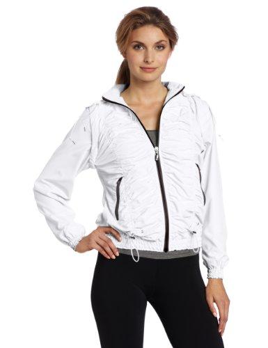 Colosseum Women'S Training Day Jacket, White, Large