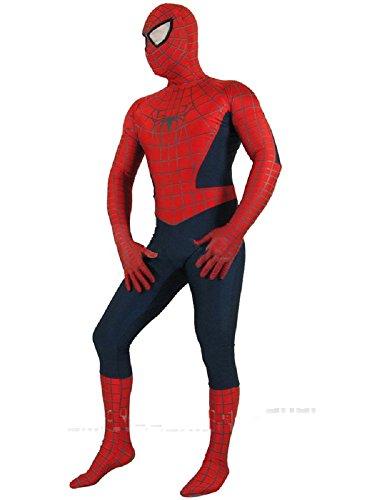 Dresstell コスプレ衣装 スパイダーマン コスチューム 大人用 子供用 キッズ仮装 子供Mサイズ