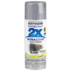 Rust-Oleum 249128 Painter's Touch 2x Spray Paint Metallic - ALUMINUM