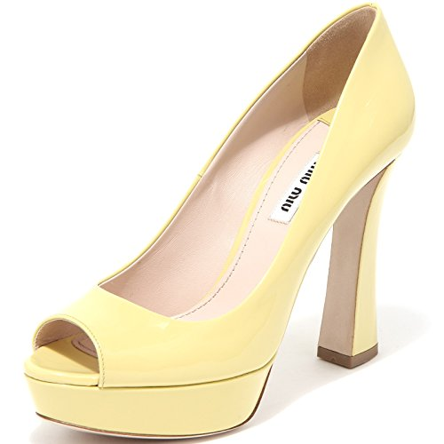 86293 decollete spuntata MIU MIU VERNICE scarpa donna shoes women [37.5]