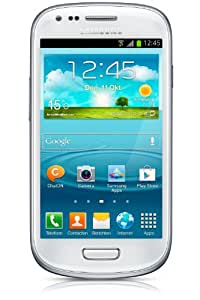 "Samsung Galaxy S III mini (I8190) - Smartphone libre Android (pantalla 4"", cámara 5 Mp, 8 GB, Dual-Core 1 GHz, 1 GB RAM), blanco"