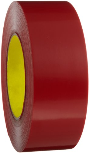 3M Outdoor Masking Poly Tape 5903 Red, 48 mm x 54.8 m (Pack of 1)