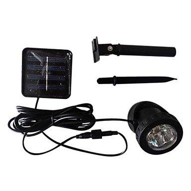0.72W 12-Light Rechargeable Stainless Steel Led Solar Garden Light
