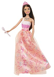 Barbie Princess Teresa Orange Dress Doll - 2012 Version