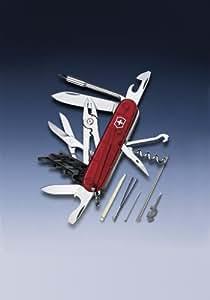 Victorinox Cyber Tool 34 Rot Transparent Gross Blister
