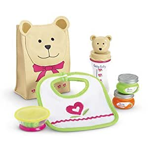 Amazon Com American Girl Bitty Baby Snack Set Toys Amp Games
