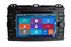 See Crusade Car DVD Player for Toyota Prado 2002-2009 Support 3g,1080p,iphone 6s/5s,external Mic,usb/sd/gps/fm/am Radio 7 Inch Hd Touch Screen Stereo Navigation System+ Reverse Car Rear Camara + Free Map Details