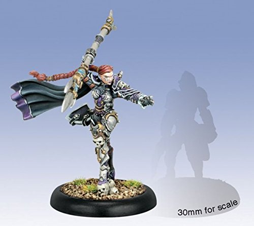 Privateer Press - Warmachine - Mercenary: Fiona The Black Privateer Model Kit
