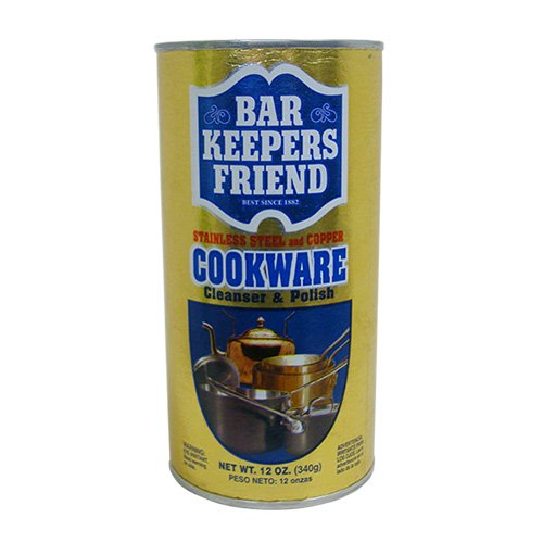 Bar Keepers Friend Cookware Cleanser & Polish: 12 OZ