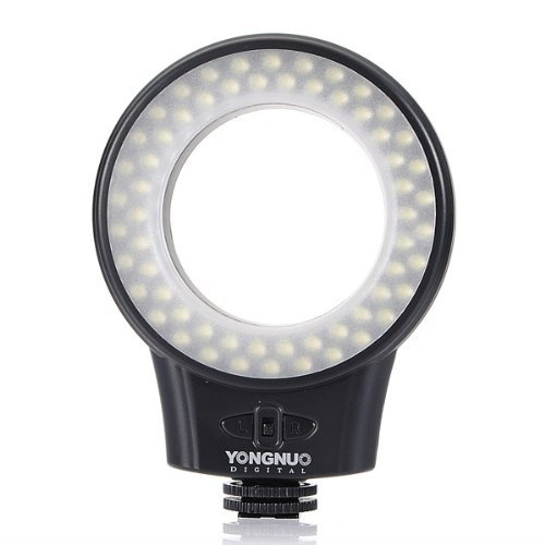 Everstar® Yongnuo Wj-60 Macro Photography Ring Led Light For Canon, Nikon, Sony, Panasonic, Samsung Digital Slr Cameras With Everstar® Microfiber Cleaning Cloths (Wj-60)