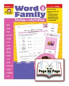 Evan-moor EMC3356 Book Word Family Level D Stories & Activities