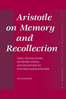 aristotle vs plato learning is recollection essay The recollection argument in plato's phaedo such as its exclusive definition of all learning as recollection and the negative ‹ aristotle definition of.