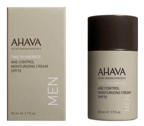 AHAVA SPF 15 Mens Skin Care Age Control Moisturiser 50ml
