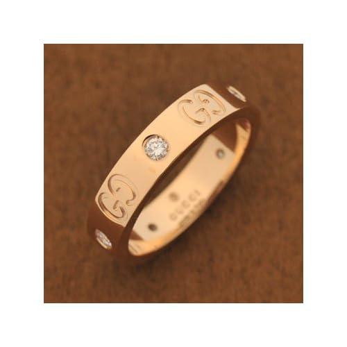 GUCCI(グッチ) 152046-J8540-5702 K18PG RING #9  グッチ アクセサリー 18Kピンクゴールドリング 9号 [並行輸入品]