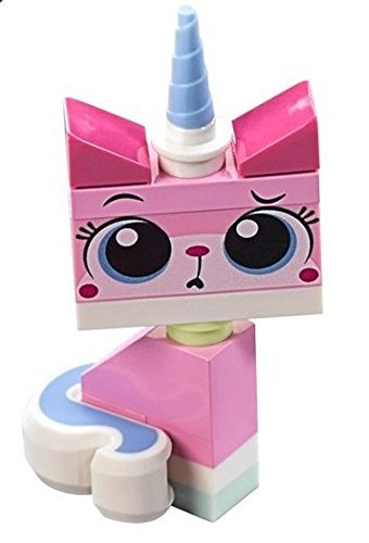 The LEGO Movie - Sitting Unikitty Minifigure with 2 Facial Expressions (Curious/Teary) from set 70818 - 1