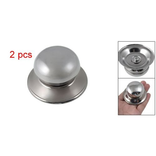 TOOGOO(R) Universal Replacement Cookware Pot Glass Lid Cover Knob 2pcs (Glass Pot Lid Replacement Knob compare prices)