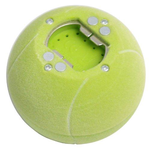 Umiwe(Tm) Beer & Soda Musical Bottle Opener Fridge Message Magnet Tennis Ball Shape With Umiwe Accessory Peeler