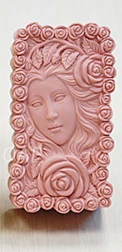 yl-rose-nymphe-m173-savon-moule-craft-silicone-moisissures-diy-handmade-soap-ere