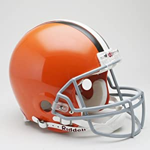 Riddell Cleveland Browns Proline Authentic Football Helmet by Riddell