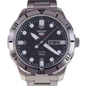 SEIKO Automatic Mens Watch SRP671J1 Black