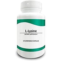 Le compresse di L-Lisina da 750mg - Azione anti-virale, booster immunitario, assicura ossa sane e riduce l'ansia - Compresse 750mg x 50 in flacone