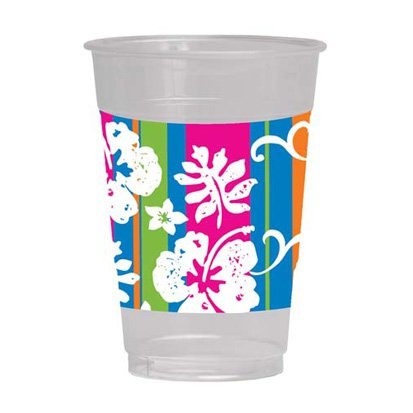 Bahama Breeze Plastic Cups 8ct