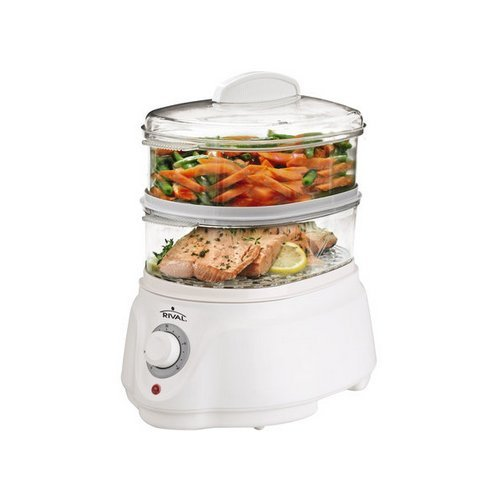 Rival Ckrvstlm21 Food Steamer, White