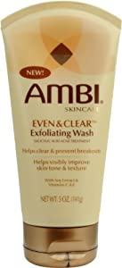 Ambi Even And Clear Exfoliating Wash