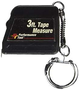 WILMAR WLMW996 3 Foot Mini Tape Measure Fishbowl- 50 Pcs