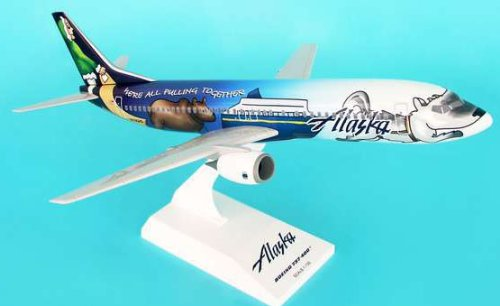 1: 130 スカイマークス Alaska 航空 ボーイング 737-400 Statehood Colors (並行輸入)