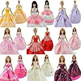 E-TING 5 P 5x Fashion Handmade Clothes Dresses Grows Outfit for Barbie Doll